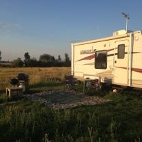 Scott & Thea's camper.